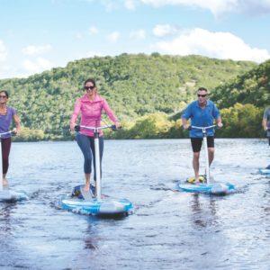Lake Austin Spa Pedal Boards